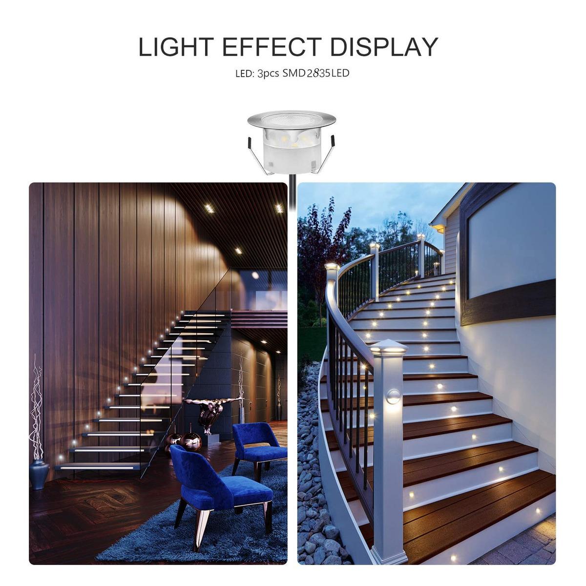 Low Voltage Led Deck Lighting Kit Stainless Steel Waterproof 186 900 En Mercado Libre