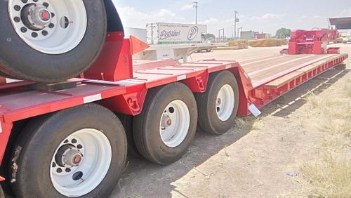 lowboy cama baja 70 toneladas desmontable para maquinaria