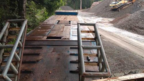 lowboy cama baja para 35 toneladas suspension de aire