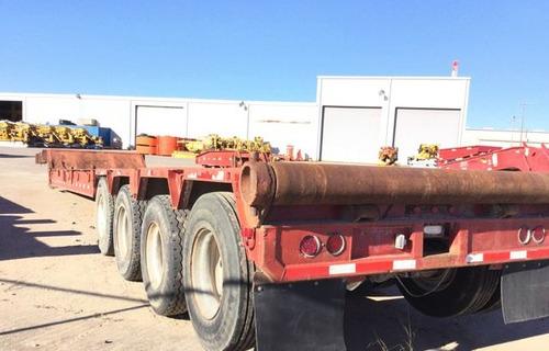lowboy cama baja petrolero 70 toneladas carga pesada