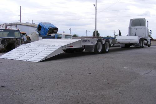 lowboy cama baja versátil 48ft 2019 35 ton 2ejes precio neto