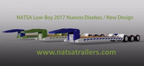 lowboy's natsa 2018 cualquier capacidad. desde $32,500 usd.