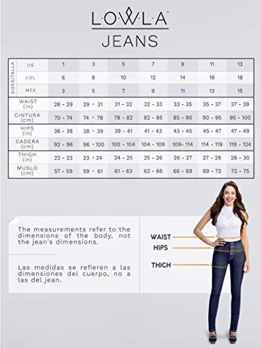 Lowla De Pantalon Mediana Altura Pitillo Mujer Levanta Nn08OPkwX