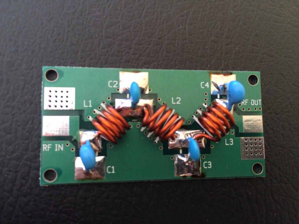 Lowpass Filter 87 108mhz Filtro Passa Baixa R 4500 Em Mercado Low Pass For Fm 88 108 Mhz Carregando Zoom