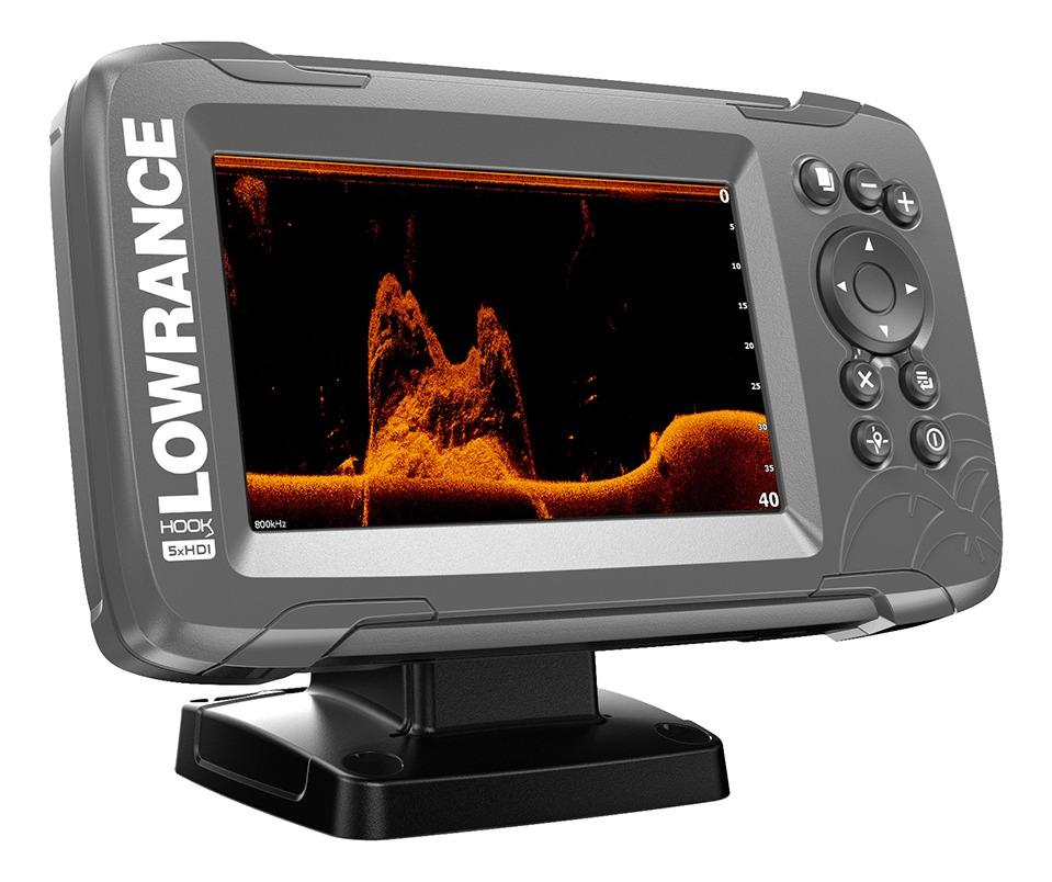 Lowrance Hook2-5x Splitshot Fishfinder GPS Plotter