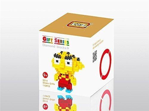 loz diamond blocks nanoblock stewie griffin educational toy