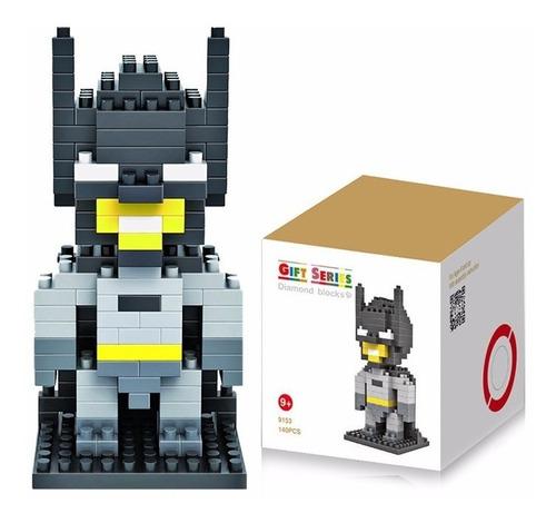 loz nanoblocks figuras avengers batman saint seiya