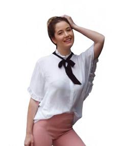 7dc41af0dda6 Camisa Blanca Fiesta Mujer - Ropa y Accesorios de Mujer en Mercado ...