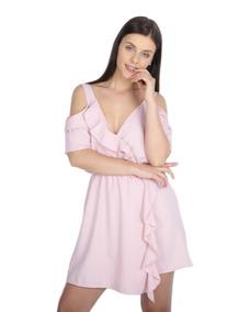 be81b4ec2 Vestido Volado Hombro - Vestidos de Mujer M en Mercado Libre Argentina