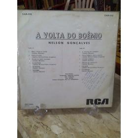 Lp - Nelson Gonçalves - A Volta Do Boêmia - 1967