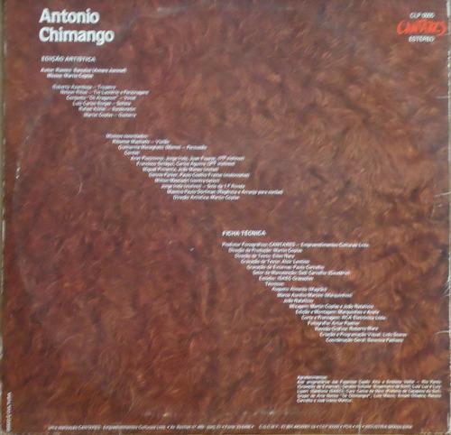 lp - (013) - gaúcho - antonio chimango - poemeto campestre