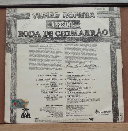 lp - (017) - gaúcho - vilmar romera - roda de chimarrão