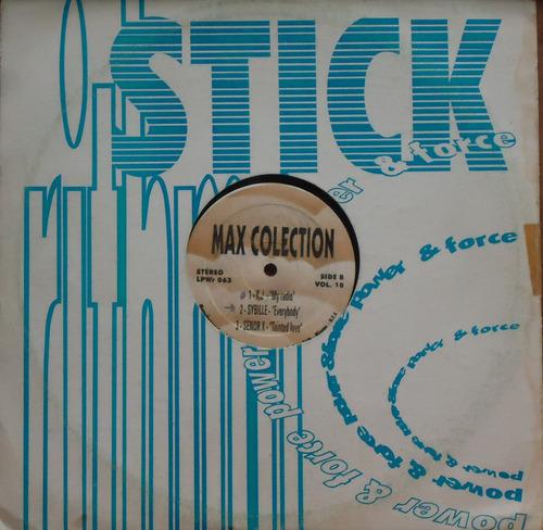 lp (030) dj's coletânea - max collection vol. 10