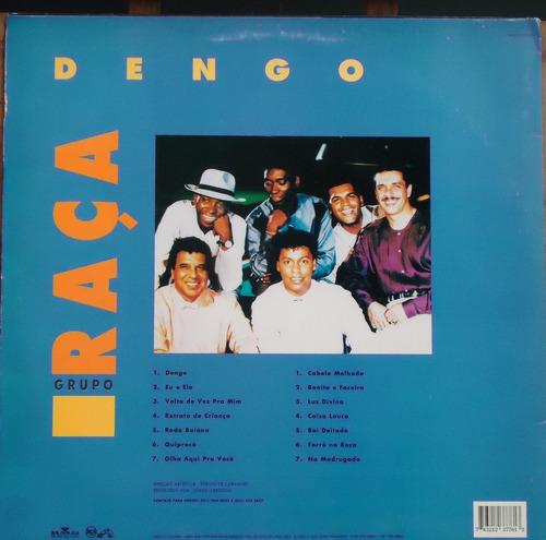 lp (038) samba - grupo raça - dengo