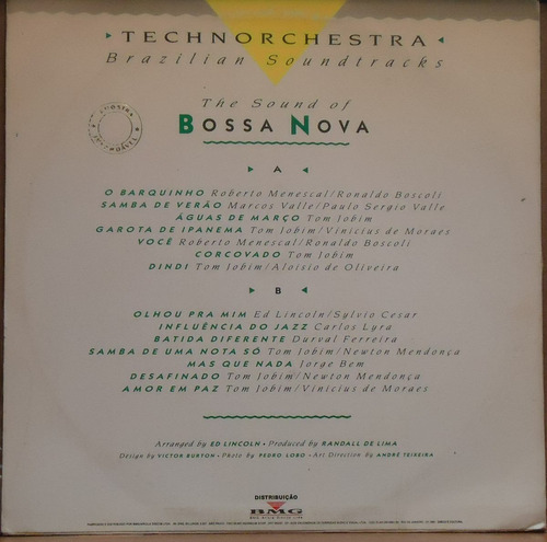 lp (043) - vários - nacional - the sound of bossa nova