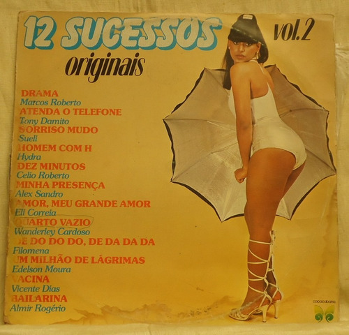 lp - (058) - coletâneas - 12 sucessos vol. 2