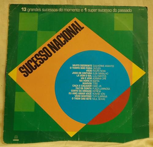 lp - (058) - coletâneas - sucesso nacional
