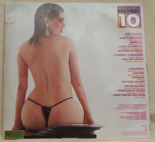 lp - (058) - coletâneas - sucessos nota 10