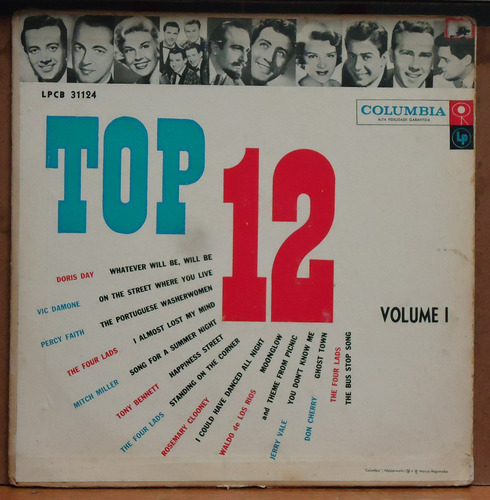 lp (060) vinil - coletâneas - top 12