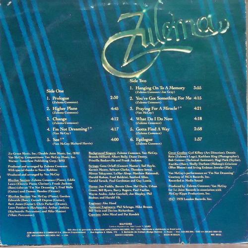 lp (062) cantor(a) inter - zulema - z-licious