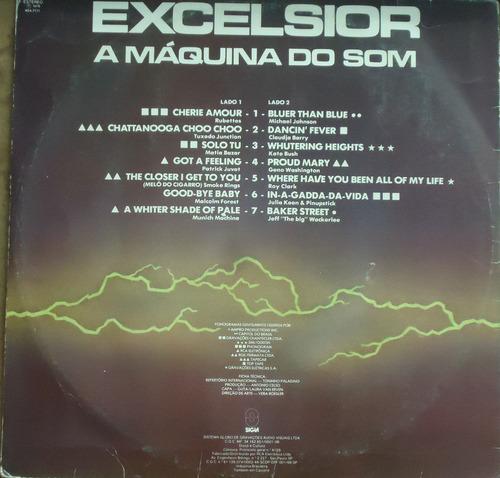 lp (066) coletâneas - excelsior - a máquina do som vol. 7