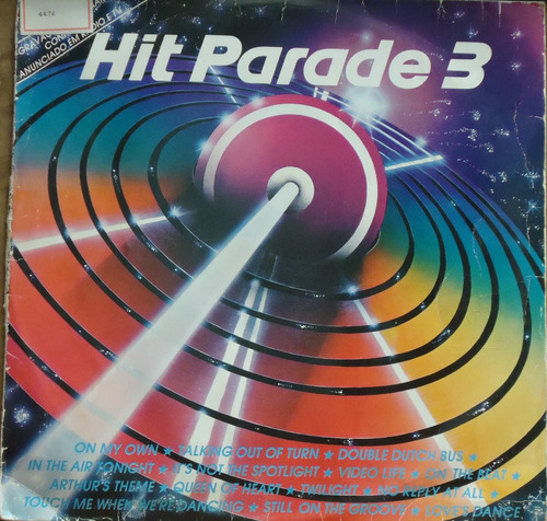 lp (066) coletâneas - hit parade vol. 3
