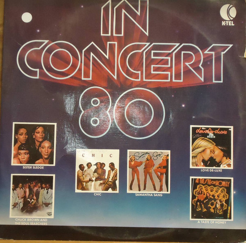 lp (066) coletâneas - k-tel in concert 80