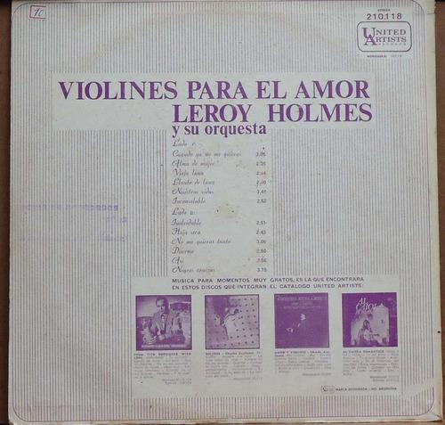 lp - (073) - orquestras - leroy holmes