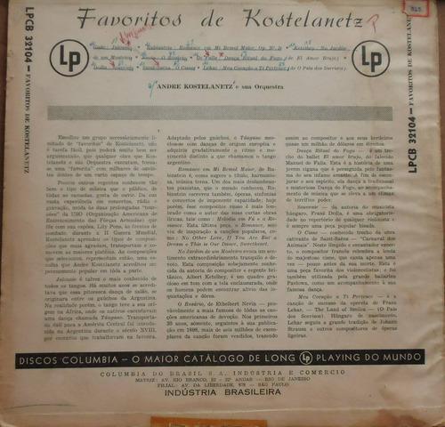 lp (078) outros int. - beatles - kostelanetz