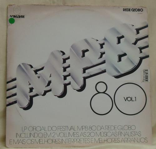 lp - (081) - coletâneas - mpb - 80 - vol. 1