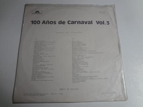 lp 100 anos de carnaval banda canecão vol. 3
