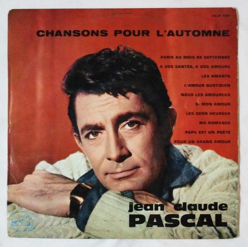 lp 12: jean-claude pascal / chansons pour l'automne