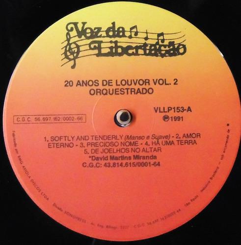 lp 20 de louvor - instrumental
