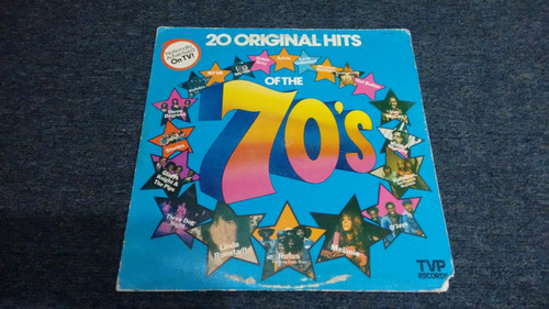 lp 20 original hits of the 70s en formato acetato,long play