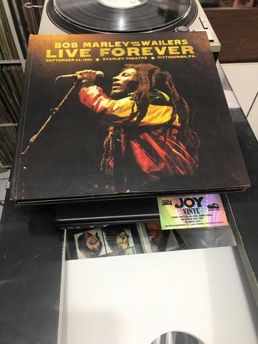 lp- 3 discos de vinil com dois cds e um livro bob marley