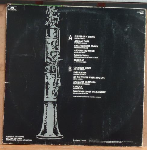 lp (323) vários - clarinet in gold