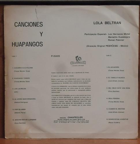 lp (325) vários - huapangos