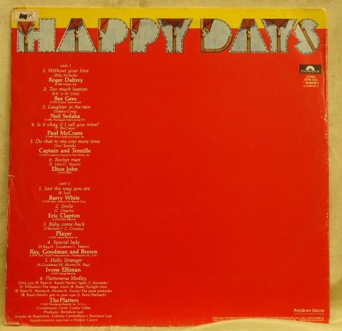 lp - (328) - coletâneas - happy days - diversos