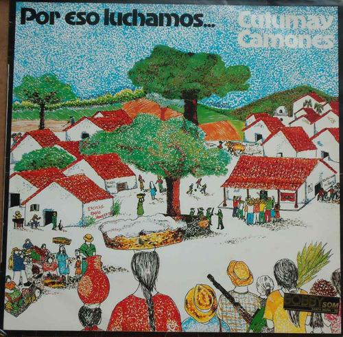lp (414) - folklore int - cutumay camones - por eso luchamos