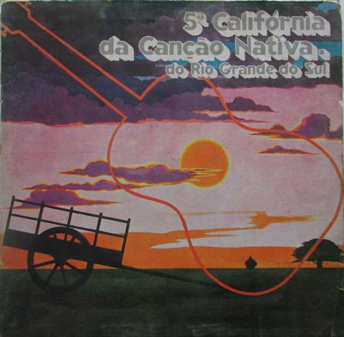 lp 5ª california da canção nativa do rio grande do sul - 197