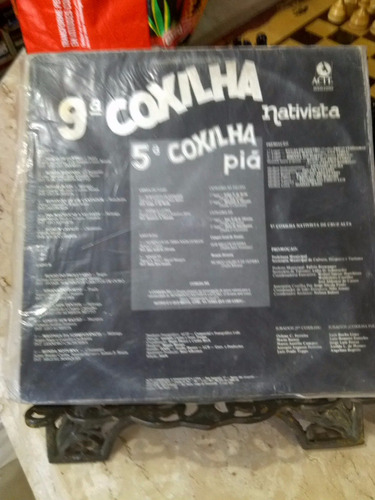 lp - 9ª coxilha nativista - cruz alta - 1989