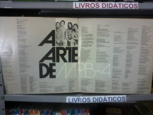 lp - a arte de mpb 4 - 1975
