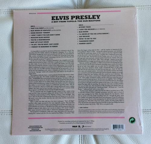 lp a boy from tupelo elvis presley lacrado europeu
