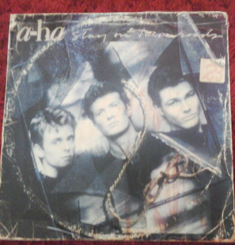 lp a-ha stay on the roads 1988 nacional no estado