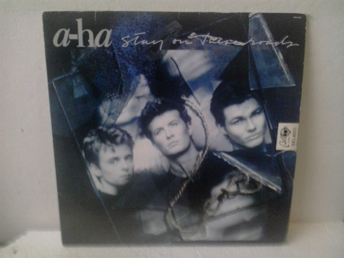 lp a-ha - stay on these road c/encarte