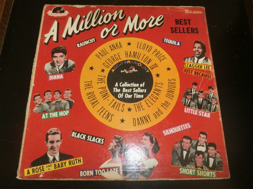 lp a million or more, diana, juste because e outras, vinil