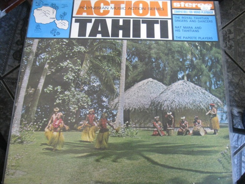 lp  =  action tahiti  polynesian music action series
