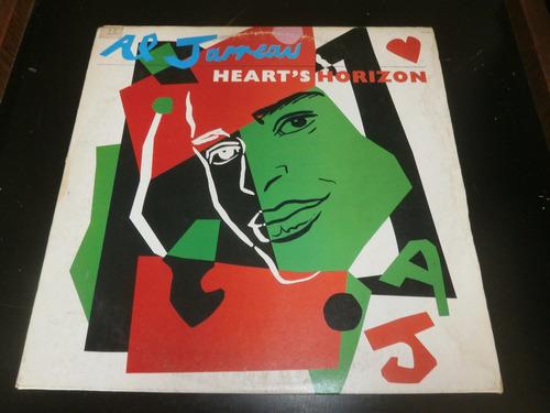 lp al jarreau - heart's horizon, vinil c/ encarte, ano 1989