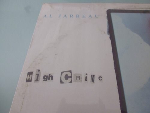 lp / al jarreau / high crime /  vinyl nacional /  acetato /