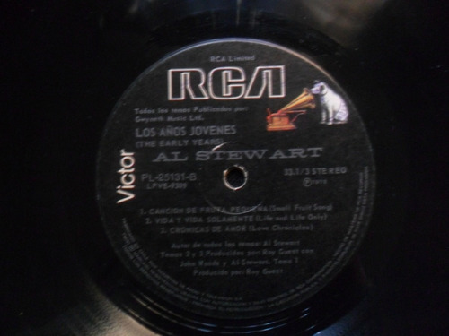 lp al stewart the early years
